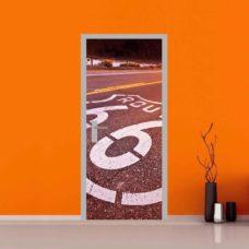 adesivo porta autostrada 66 route 66 arredo casa