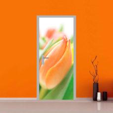 compro stampa porta primaverile fiore colorato sticker