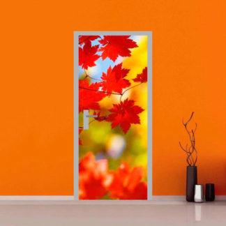 adesivo per porte : autunno
