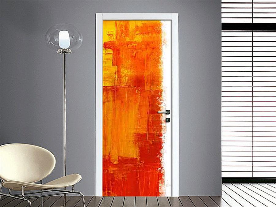 adesivo-pennellate-colore-59762292-porta