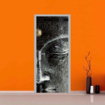 Adesivo per personalizzare le porte: Buddha