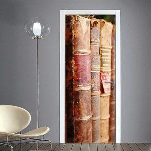 Adesivo per porte : libri