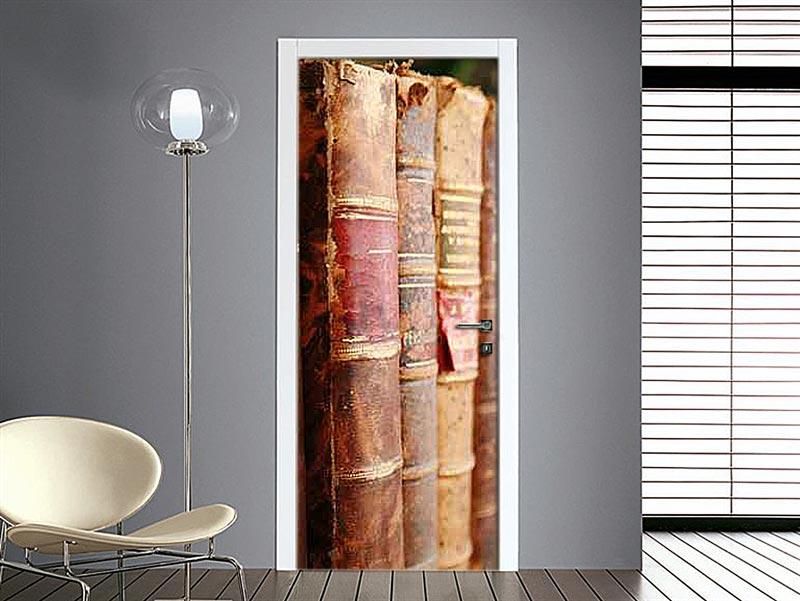 Adesivo per porte interne e blindate decorale con adesivi - Stickers porte interne ...
