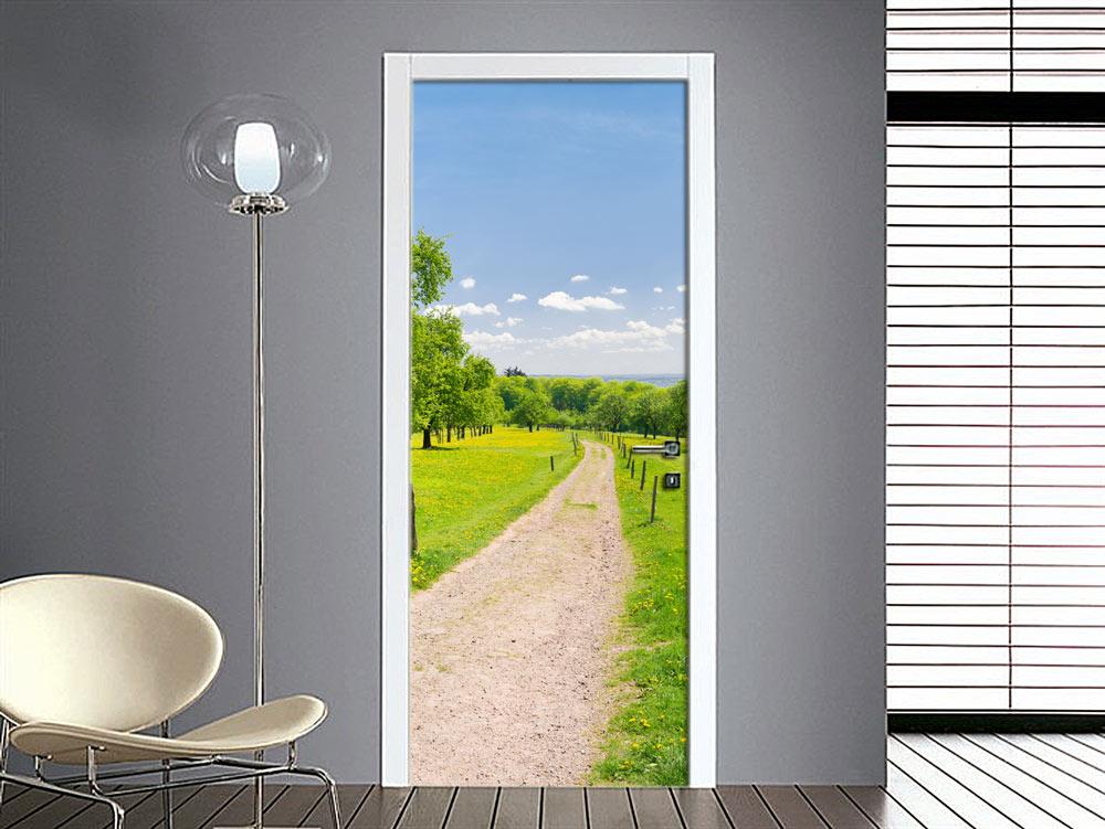 trompe loeil adesivi per porte blindate Gli adesivi per porte ti permetteranno di dare nuova vitalità ai tuoi ambienti, sono particolarità li rende ottimali anche sui pannelli interni per porte blindate.