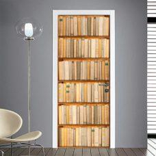 Fotomurale per Porta: Finta libreria