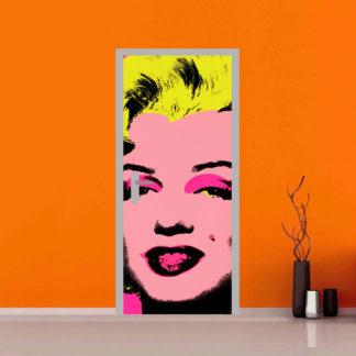 Marylin Monroe - sticker adesivo per personalizzare la tue porte