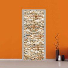 Rivestimento finta pietra per porte