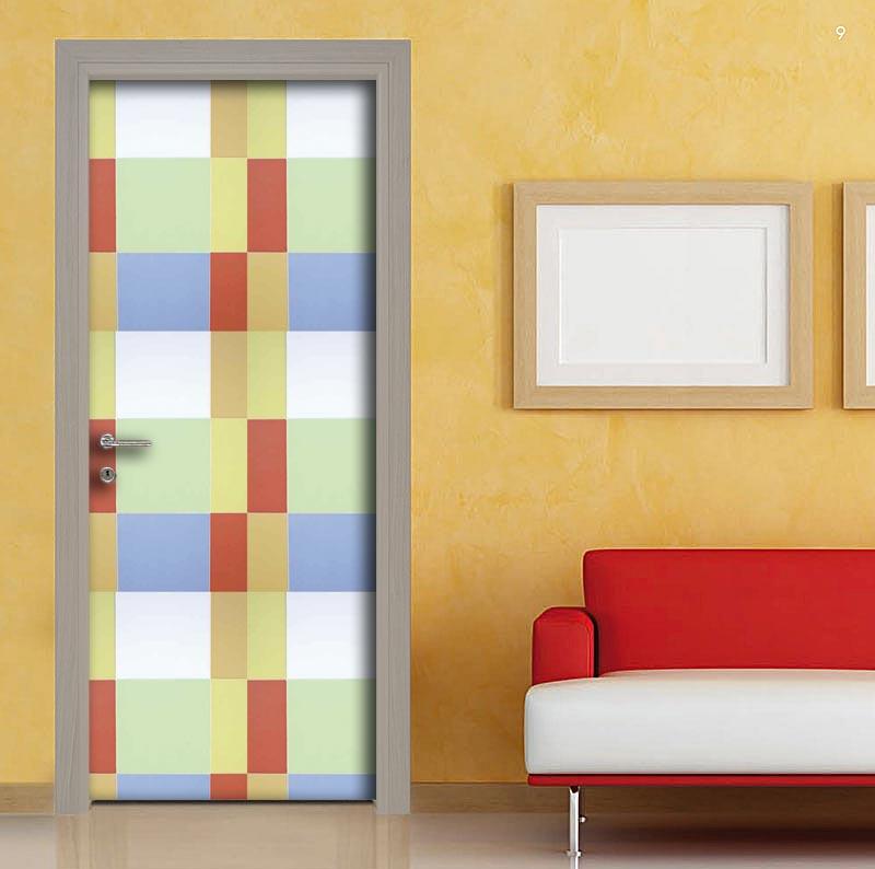 Pellicola adesiva per personalizzare le porte - Pellicole adesive per porte ...