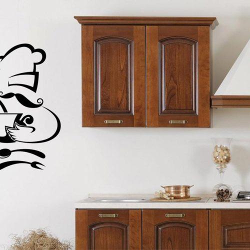 Adesivi murali frasi per la cucina decora i tuoi ambienti for Adesivi cucina