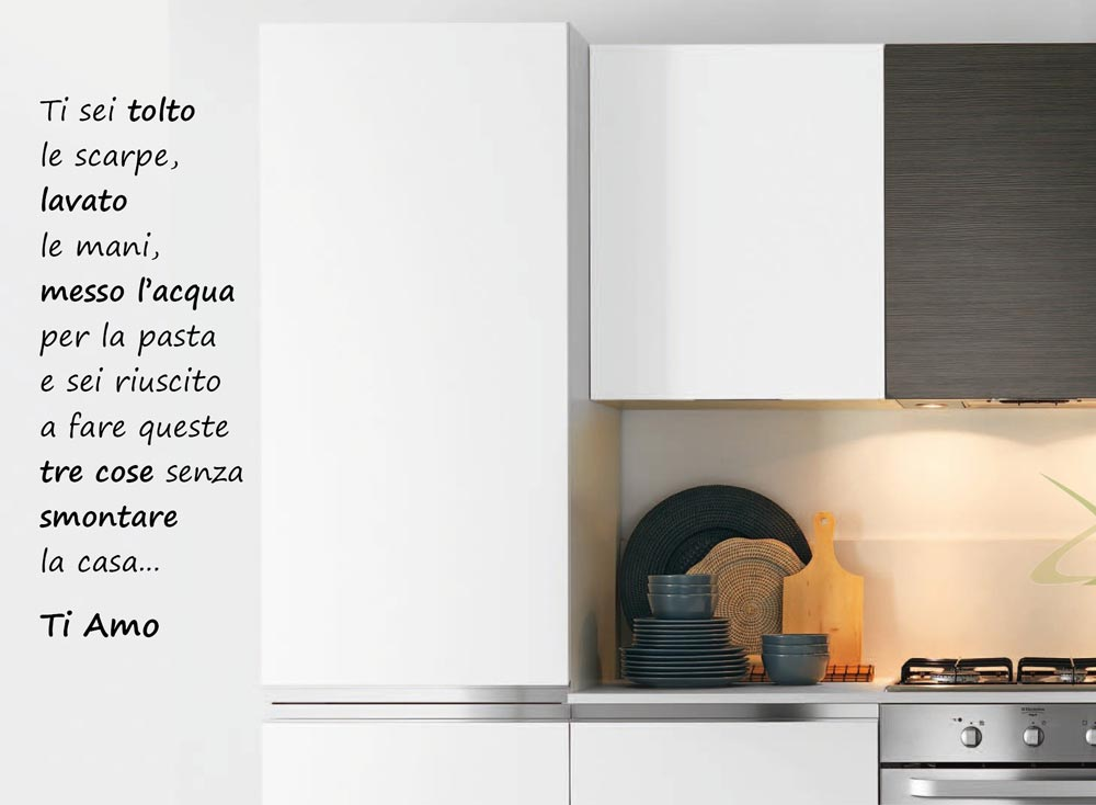 Awesome decori per pareti cucina pictures home interior for Decorazioni muro cucina