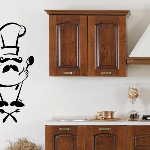 Adesivi murali e stickers per decorare la tua casa for Adesivi x cucina