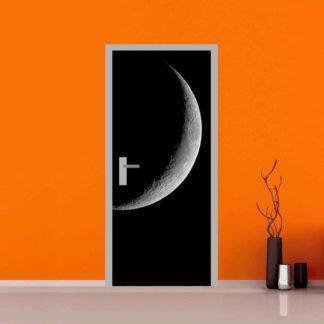 adesivo per porte : luna calante