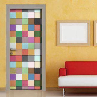 Sticker mattonelle colorate