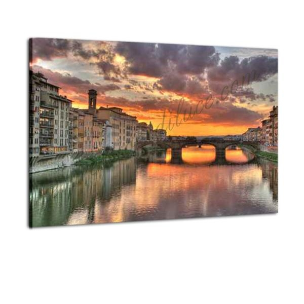 quadro in tela canvas : Firenze