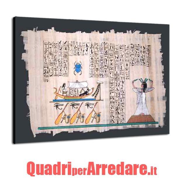 quadro moderno cucina papiro egiziano