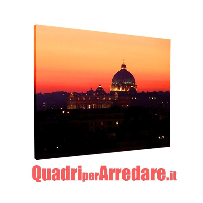 quadro in tela canvas : Roma