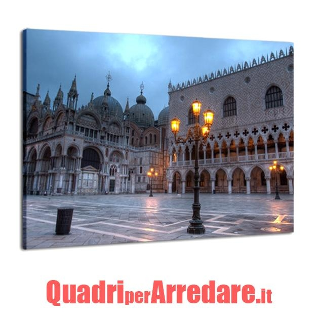 quadro in tela canvas : piazza San Marco