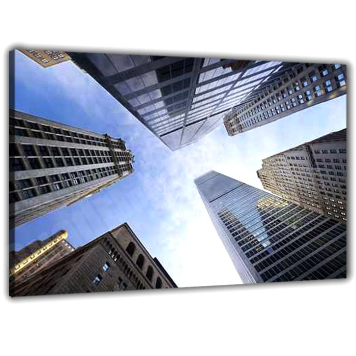 quadro stampato : grattacieli
