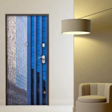 adesivo new york grattacielo vetro sticker