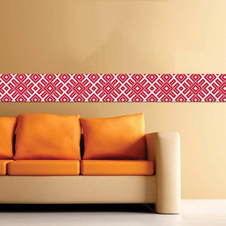 Strisce decorative adesive per pareti for Greche decorative per cucina