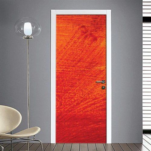 Fotomurale adesivo Porta: pennellate colore