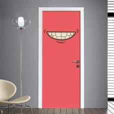 Adesivo per porta emoticon