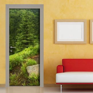 Adesivo porta con fotografia personalizzata
