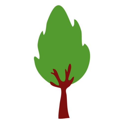 Stickers murali alberi
