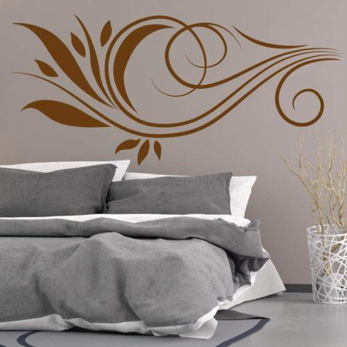 Adesivi murali camera da letto fiori