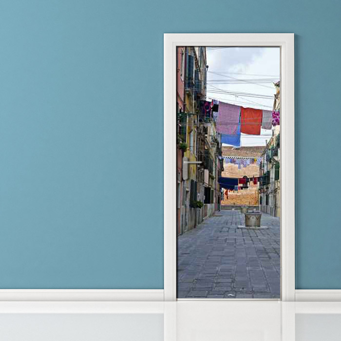 Adesivo per Porta di Napoli quartieri Spagnoli