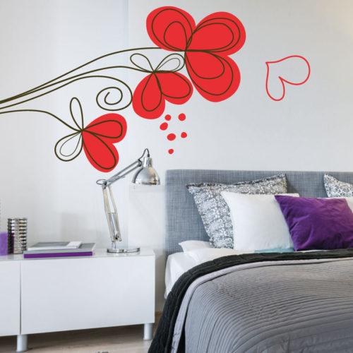 Adesivi murali natura for Greche adesive da muro
