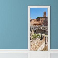 Adesivo per porta - Roma Mercati di Traiano