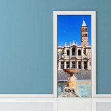 Adesivo per Porta - Roma Chiesa Santa Maria Maggiore