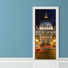 Adesivo per porta - Roma San Pietro