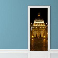 Adesivo per porta - Roma San Pietro Vaticano