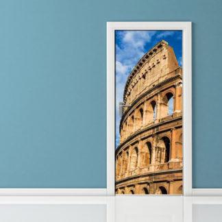 Adesivo porta - Colosseo Roma
