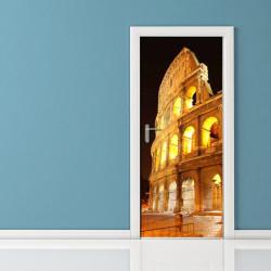 Adesivo per porta - Roma Colosseo