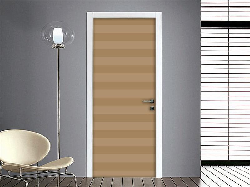 Pareti Color Tortora A Righe : Adesivo per Porte – Righe Orizzontali ...