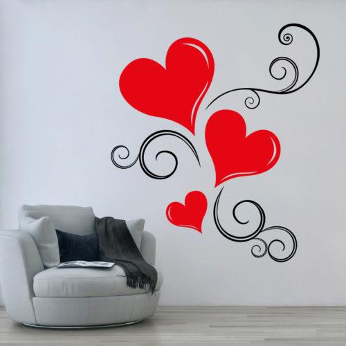 Stickers adesivo cuore e amore