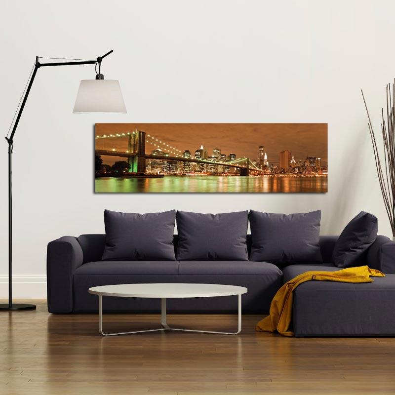Quadro Moderno di New York - Ponte di Brooklyn