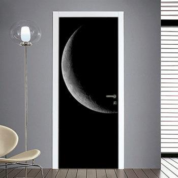 Adesivo per Porta: Luna