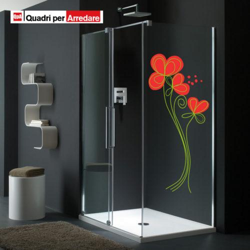 Adesivo per porta finta libreria applica senza problemi for Adesivi per box doccia