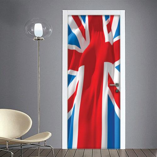 Adesivo per porta bandiera inglese union jack