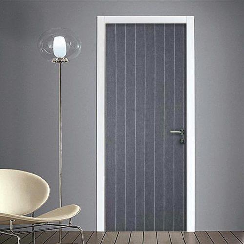 Adesivi per porte di forte effetto design facilmente - Decorazioni porte interne ...
