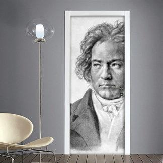 Adesivo porta Beethoven