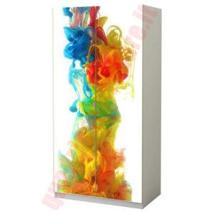Adesiva per mobili IKEA: fumo colorato