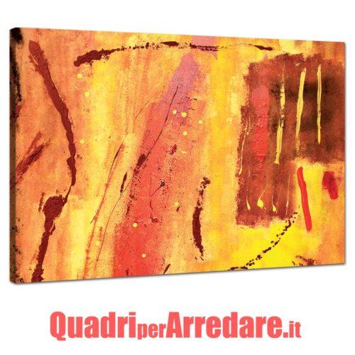 Quadro moderno astratto pennellate colore