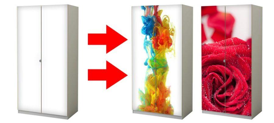 Stanco del tuo mobile lo puoi rivestire con le pellicole for Rivestire mobili con carta adesiva