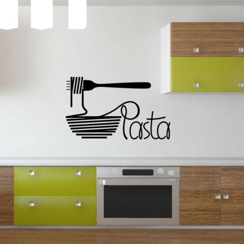 Adesivi murali cucina pasta