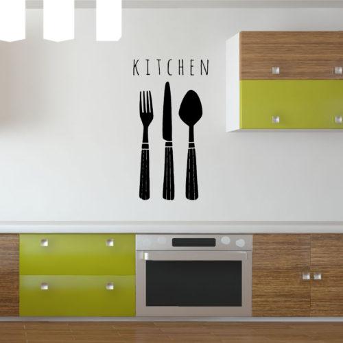 Adesivi murali cucina posate